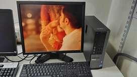 Dell optiplex 390 Core i3 2nd Gen (320gb HDD 4gb Ram) Cemplate set