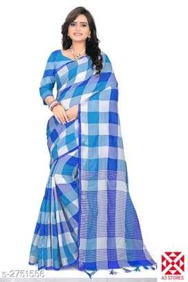 Cotton saree new stock