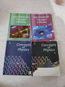 HC Verma physics 2 parts with solutions