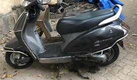 Great Condition 2012 Grey Honda activa