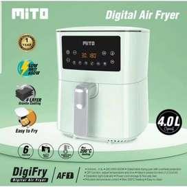 Mito digital air fryer penggoreng tanpa minyak