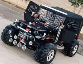 All type Jeep modified