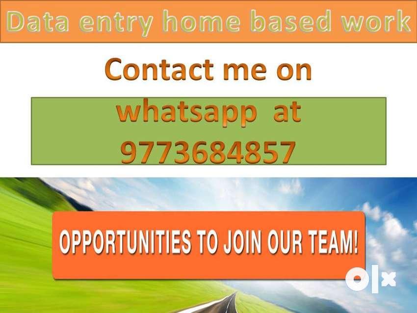 Data entry job part time work home based typing job offline work 0
