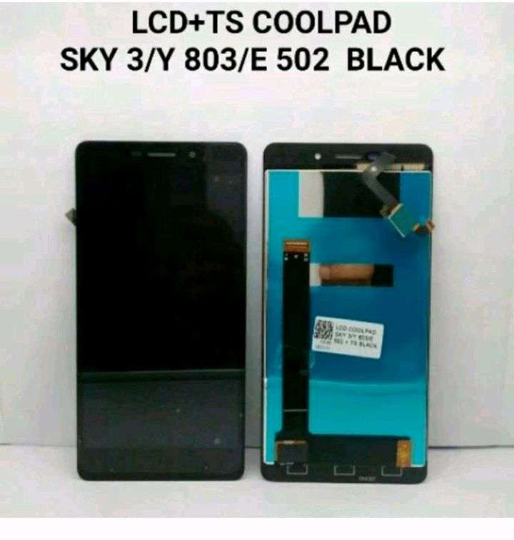 Lcd Touchscreen Coolpad Sky 3/Y 803/E 502 Black 0