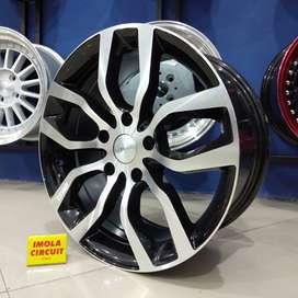 Velg racing murah import ring17 HSR wheel baut 5x120 Gresik