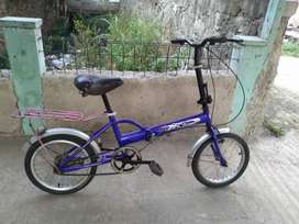 Jual sepeda lipat Aleoca size 16 normal siap goess minat WA/HUB PROFIL