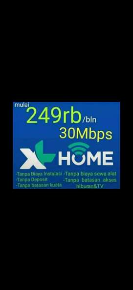 XL HOME internet rumah