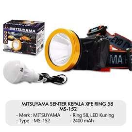 MITSUYAMA SENTER KEPALA XPE RING 58 5W MS-152