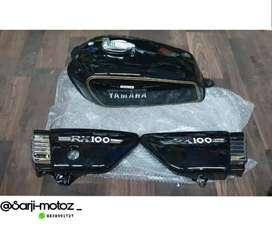 Yamaha rx100/ 135 tank full set