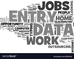 DATA ENTRY JOB EASY TYPING WORK