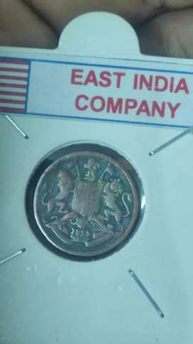 1835 east india company coin
