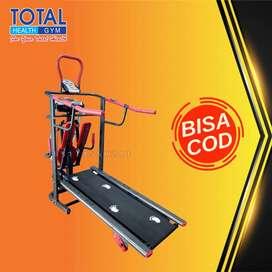 treadmill manual tl 004 treadmil tanpa listrik COD Cilacap