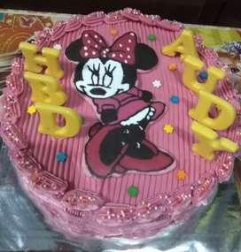 Kue tart ulang tahun karakter