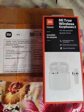 **Mi true wireless eearphone 2 want to sell brand box pack m