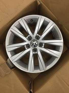 "Volkswagen POLO 15"" alloy wheel set"