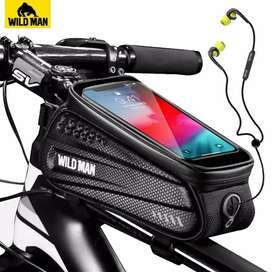 Tas Pouch Smartphone Tahan Air utk Sepeda MTB