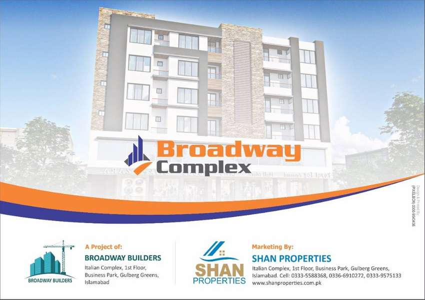 Shops available on 3 years installments in Gulberg Greens Islamabad 0