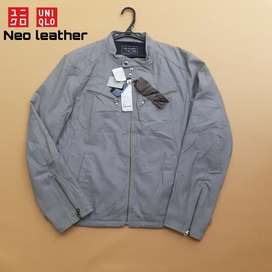 Jaket Uniqlo neo leather