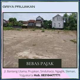 Gratis Pajak Balik Nama Tanah Siap Bangun 150 m Jln. Kaliurang SHM