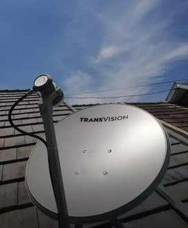 Promo parabola Transvision HD rsmi Padang paket 6 bulan free film HBO
