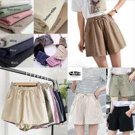 Solid Linen Pants AF