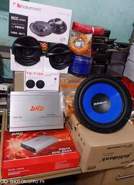 Plus Psang,Sub Audiobank+Power Carman+Speker Nakamici+Tweter+Box+Kabel
