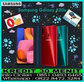 Samsung Galaxy A20s 3/32 New || Promo Kredit 0% Tanpa Kartu Kredit ||