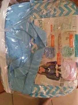 Dijual Tas Biru Untuk Bawa perlengkapan Baby... Kondisi Baru..