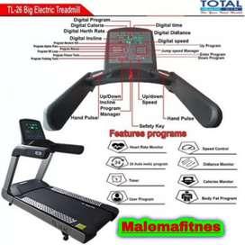 Treadmill elektrik 1 fungsi komersil TL26 ac