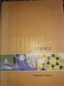 NCERT Science book class 10th.