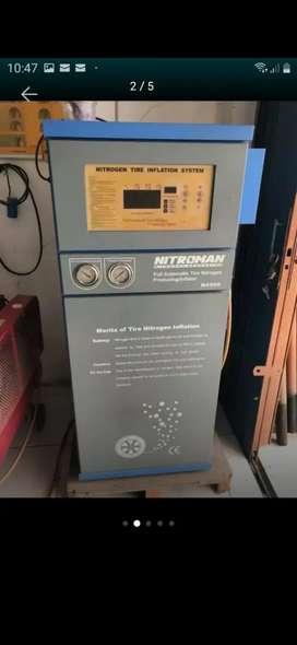 Nitrogen. Nitroman N4500 mobil-motor