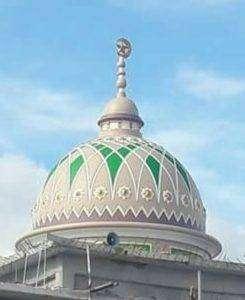 Kubah masjid GRC Di Cikupa