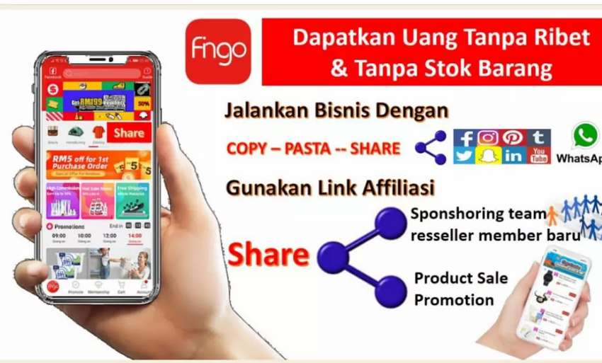 Peluang usaha di E-Hypermaket/ (Hypermarket Online) / Marketplace 0