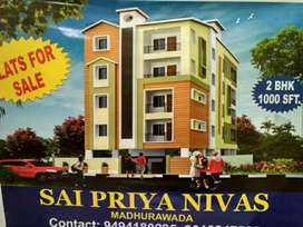 Flat for SALE. At Madhurwada. Nr RTC Colony