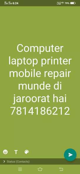 Laptop printer mobile repair shop