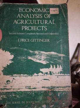 Economic Analysis of Agricultural Project