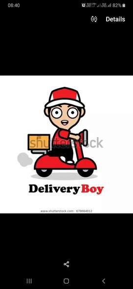 Required  delivery boy at BHUBANESHWAR