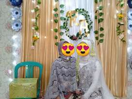 Jual Backdrop background Lamaran / wedding
