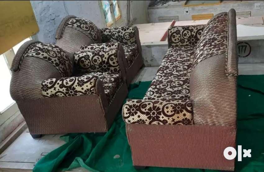 Paras sofa set 3+1+1=5seater sofa