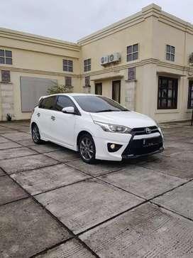 Toyota Yaris Trd Spotivo AT Putih 2014 Keyless GPS Km50rb Focus Wtc