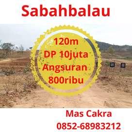 Tanah kredit murah dekat Sukarame
