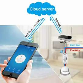 Sonoff basic wifi smart switch smart home rumah