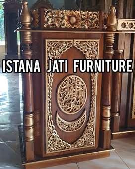 Mimbar masjid furniture mimbar