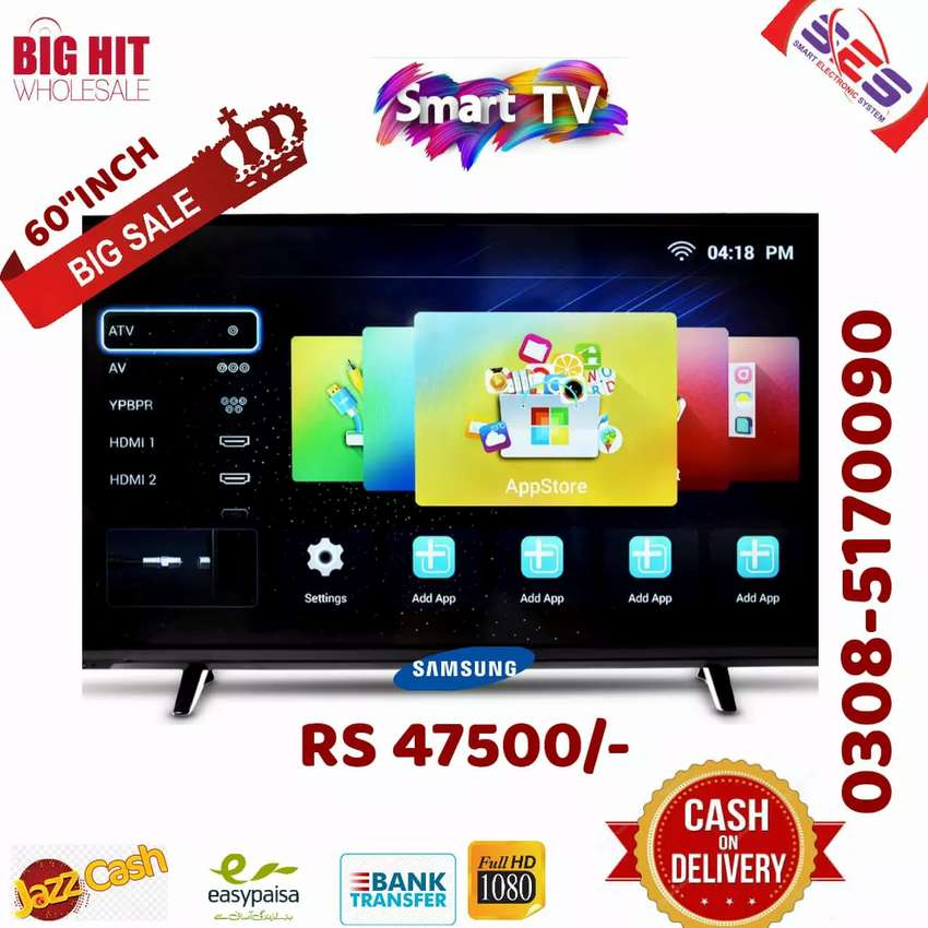 "Samsung/ Sony 20 "" led TV  with warranty 20"" to 85""  Led TV available 0"