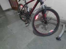 Hilly upgraded cycle on rent
