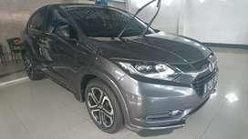 Honda hrv prestige tahun 2015 akhir sunroof abu abu grey matik