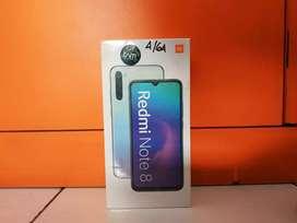 Xiaomi redmi note 8 ( 4GB ) resmi garansi 1 ½ tahun