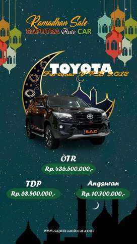 Toyota fortuner VRZ TRd 4x2 AT 2018 ~ Yoseph SAC
