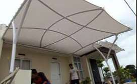 Agen pemasangan canopy membrane bahan tebal terbaik