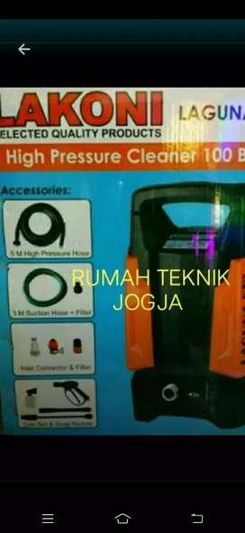 Jet cleaner lakoni listrik kecil tekanan kencang ( RUMAH TEKNIK JOGJA)